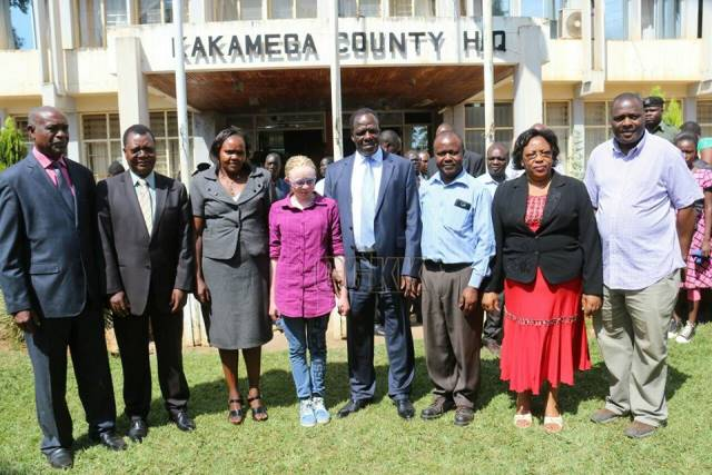 TOP 2017 K.C.P.E PUPIL HOSTED BY THE GOVERNOR