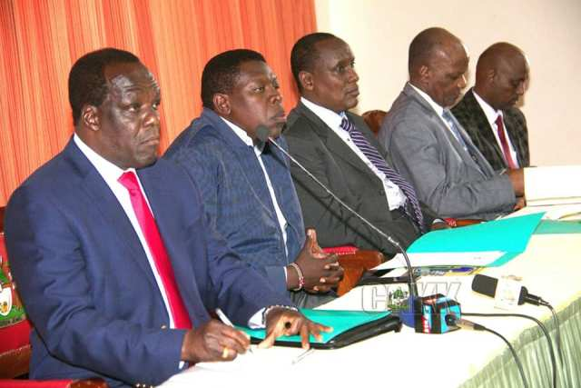 LEADERS MEET FOR 5TH DEVOLUTION CONFERENCE BRIEFING