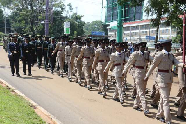 COUNTY HOSTS UNIFORMED SERVICE THANKSGIVING MASS AS GOVERNOR OPARANYA CONDEMNS RISING CASES OF INSECURITY IN BUTERE