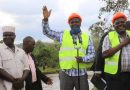 GOVERNOR TOURS KHWISERO WATER AND POWER PROJECTS AS HIS DEPUTY PRESIDES OVER A GRADUATION FETE