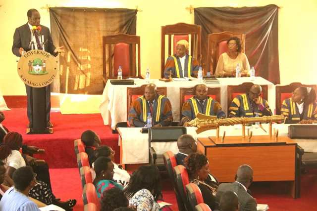 Governor at the County Assembly