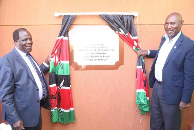 AUDITOR GENERAL REGIONAL HEADQUARTERS OFFICIALLY OPEN – KAKAMEGA