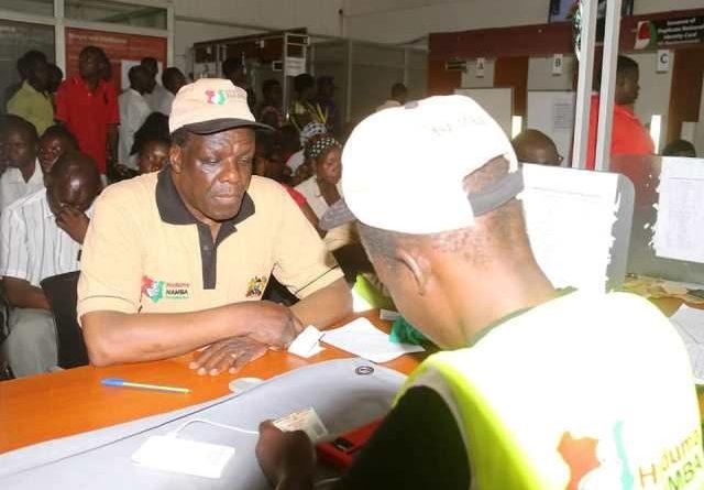 GOVERNOR OPARANYA OFFICIALLY REGISTERS FOR HUDUMA NAMBA