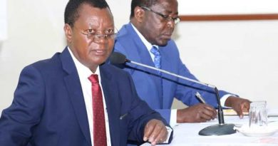 REVENUE COLLECTION TARGETS TO BE REVISED ONCE MORE ~ PROF. KUTIMA