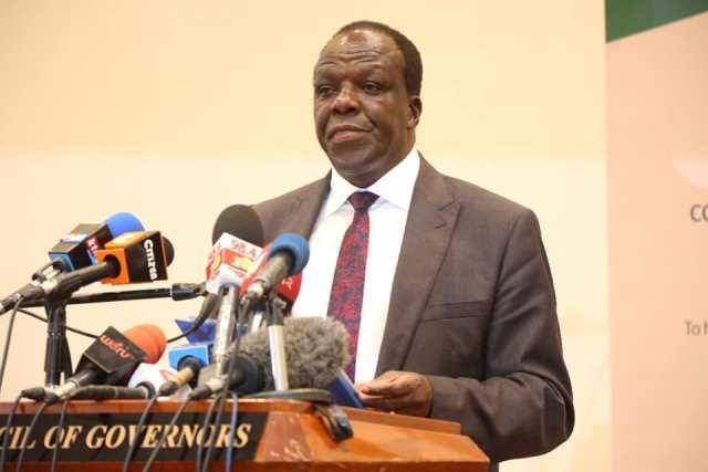 KAKAMEGA GOVERNOR RE-ELECTED CoG CHAIRPERSON