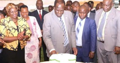 KAKAMEGA EXECUTIVES FETE THE GOVERNOR ON HIS RE-ELECTION TO TOP CoG SEAT