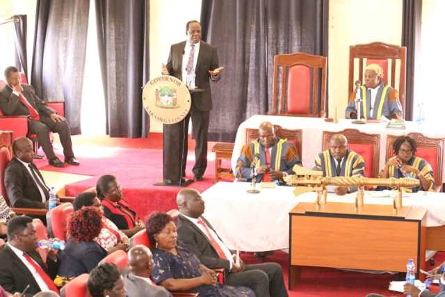 GOVERNOR OPARANYA OPENS ASSEMBLY SESSION, URGES PRUDENCE IN EXPENDITURE
