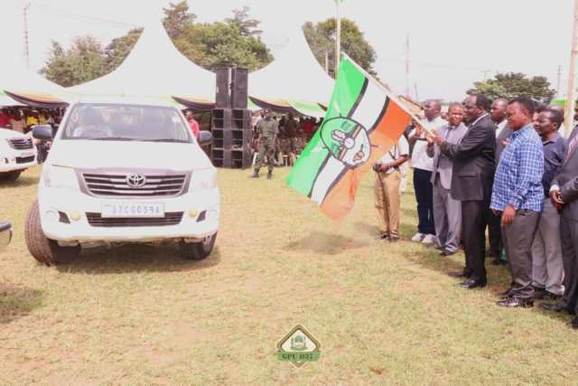 GOVERNOR OPARANYA LAUNCHES AGRICULTURE PROGRAMMES