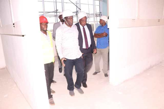 PHASE ONE OF THE TOWERING COUNTY REFERRAL HOSPITAL TO BE COMPLETED MID THIS YEAR.