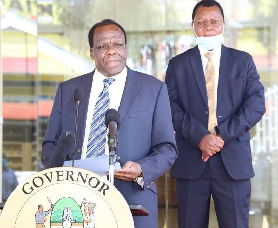 REORGANIZATION IN THE KAKAMEGA COUNTY GOVERNMENT.