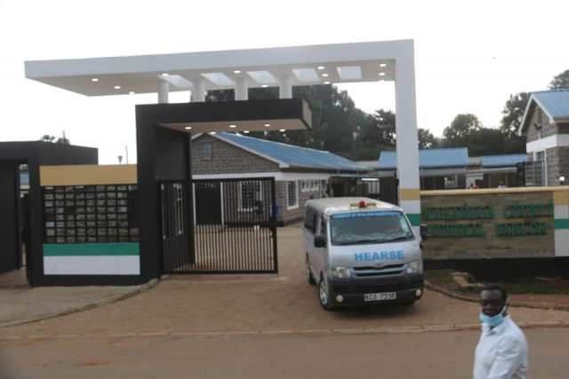 NEW LOOK KAKAMEGA FUNERAL PARLOUR SET FOR COMMISSIONING