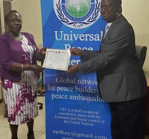 KAKAMEGA FIRST LADY FETED FOR HER ROLE IN HUMAN DEVELOPMENT