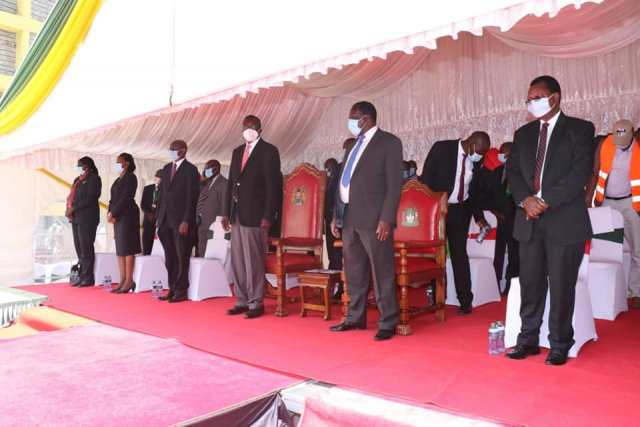 NEW KAKAMEGA LAW COURTS OPENS DOORS TO CLIENTS