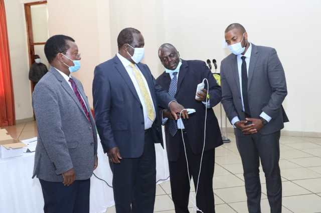 COUNTY RECEIVES MEDICAL EQUIPMENT TO SUPPORT HEALTHCARE SYSTEM