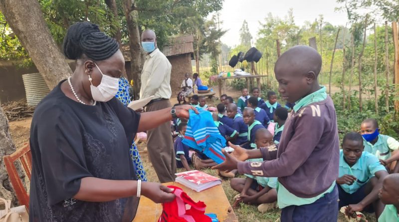 FIRST LADY DONATES COMMON USER GOODS TO STUDENTS IN KAKAMEGA COUNTY