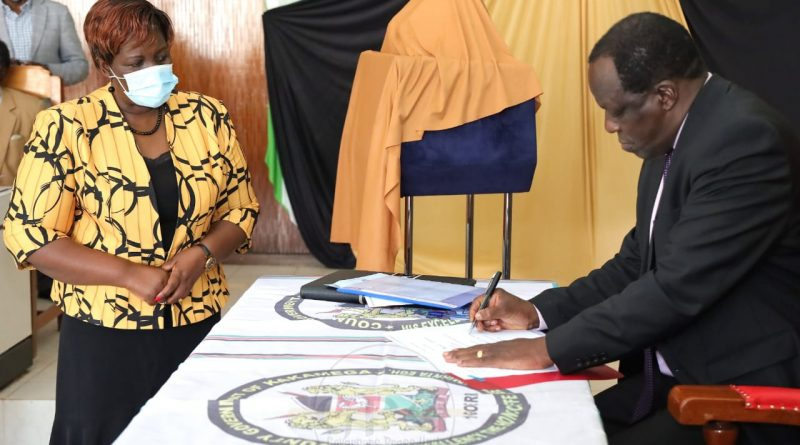 COMPLETE ONGOING DEVELOPMENT PROJECTS FIRST BEFORE LAUNCHING NEW ONES,GOVERNOR OPARANYA DIRECTS CECMS