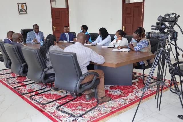 GOVERNOR OPARANYA MEETS UNICEF OFFICIALS, PLANS OPARANYACARE PROGRAMME RELAUNCH