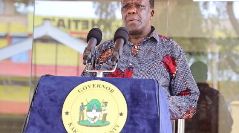 GOVERNOR OPARANYA LAUNCHES FREE FARM INPUTS FOR THE VULNERABLE IN THE COUNTY