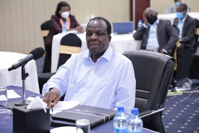 GOVERNOR OPARANYA TO PRESENT FY 2021/2022 BUDGET TO MCAS IN PERSON