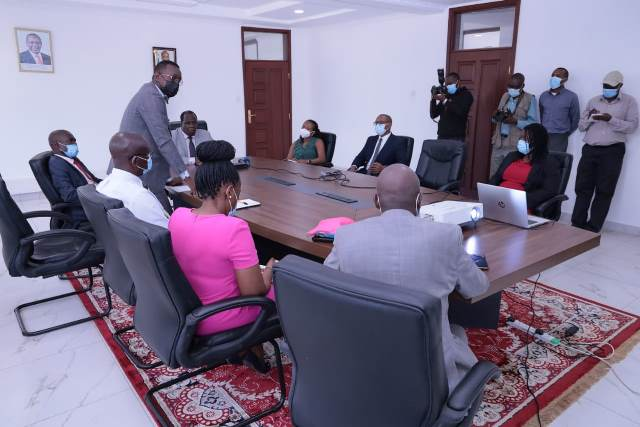 GOVERNOR HOLDS MEETING WITH AMREF, PHILIPS EAST AFRICA FOR PARTNERSHIP IN PRIMARY HEALTH CARE