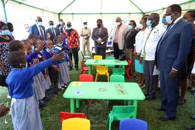 COUNTY COMMENCES DISTRIBUTION OF FURNITURE TO ECDE CENTRES